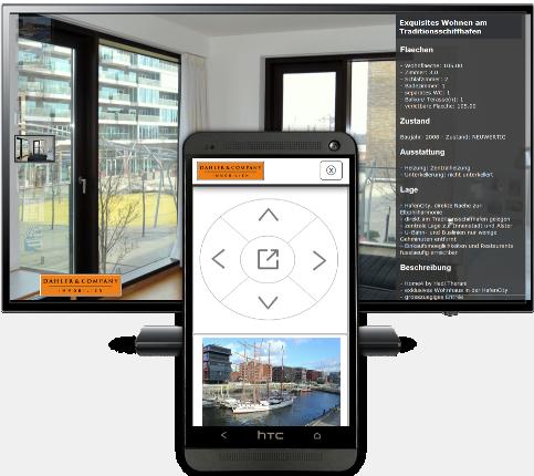 Screen und Smartphone-Control